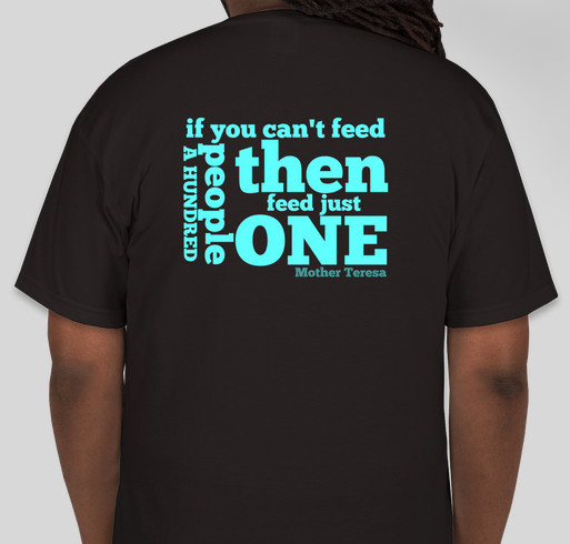 Food Bank Robbed, Monkey Do Project to Replace 200 Holiday Meals for Hungry Fundraiser - unisex shirt design - back