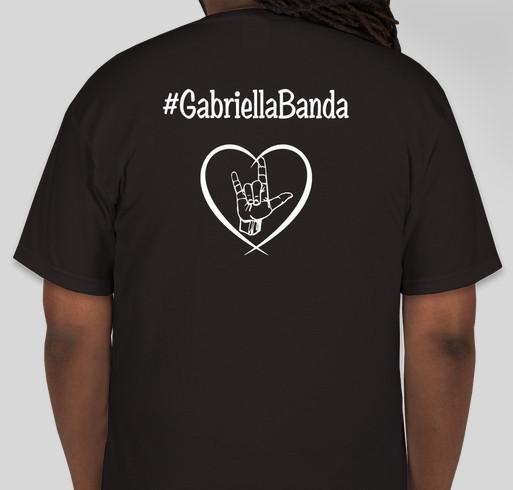 Gabriella Banda - New York Fashion Week or bust! Fundraiser - unisex shirt design - back