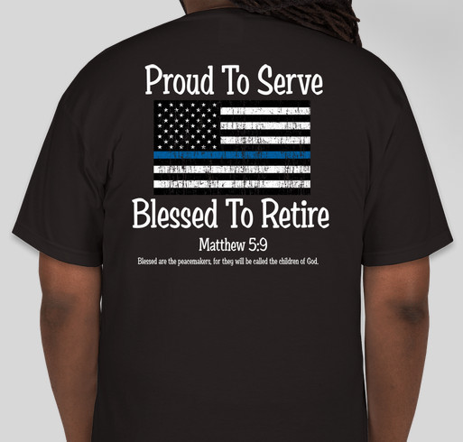 All proceeds will be donated to the national law for T shirts printing washington dc