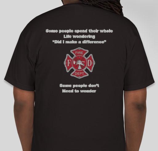 Jen 27 Fundraiser - unisex shirt design - back