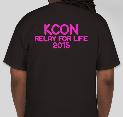 Kcon relay for life team shirts booster fundraiser for Relay for life t shirt designs