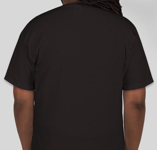 3D printed Car Fundraiser - unisex shirt design - back