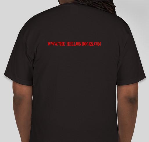 the Hellion Rocks fundraiser Fundraiser - unisex shirt design - back