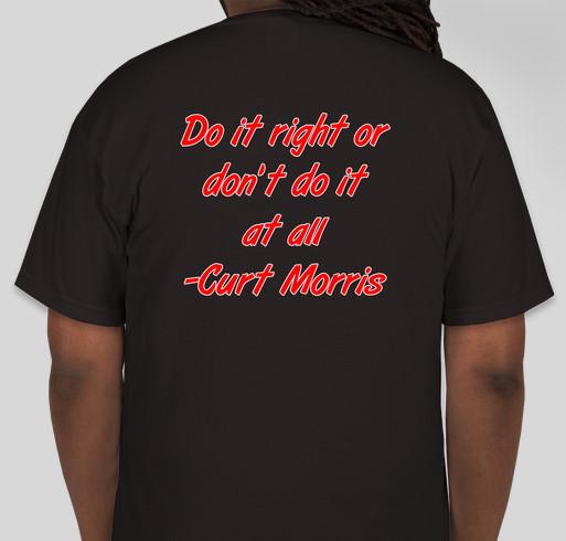 Warriors For The Morris Family Fundraiser - unisex shirt design - back