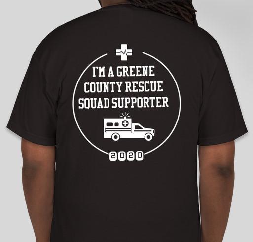 Greene County Rescue Squad Fundraiser - unisex shirt design - back
