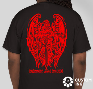 Gildan Ultra Cotton T-shirt — Black