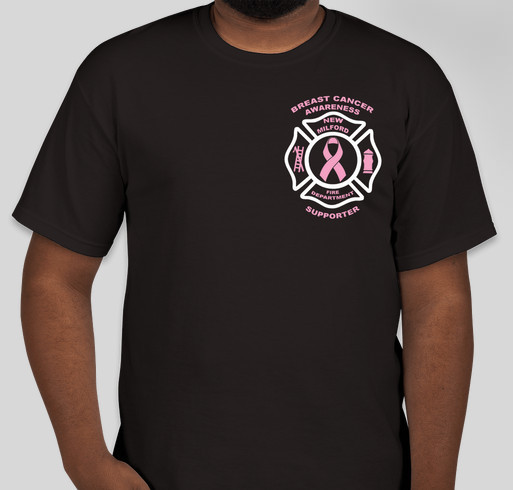 New Milford FD Breast Cancer Awareness Month Fundraiser - unisex shirt design - front