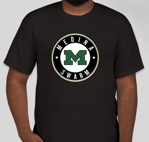 Medina swarm shirts to raise money for new jerseys for for Shirts to raise money
