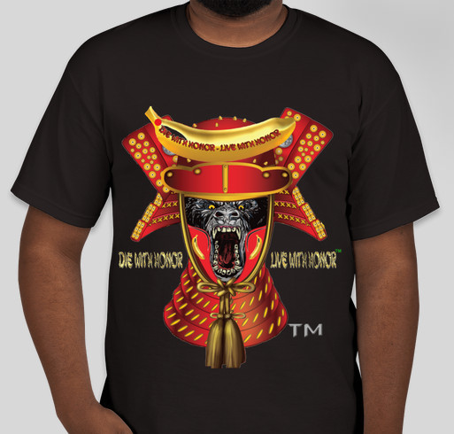 Funding For An Awesome Samurai Gorillas Toy Line Fundraiser - unisex shirt design - front