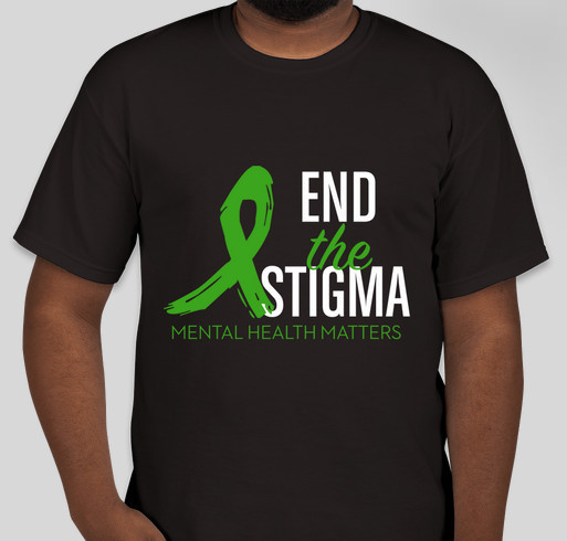 Stigmas No More Fundraiser - unisex shirt design - front