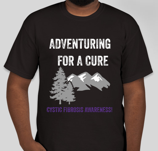 6ff7698e0cc Cystic Fibrosis Awareness, Caleb's Crusaders Tee Custom Ink Fundraising