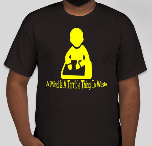 Knowledge Tees By AAD Fundraiser - unisex shirt design - front