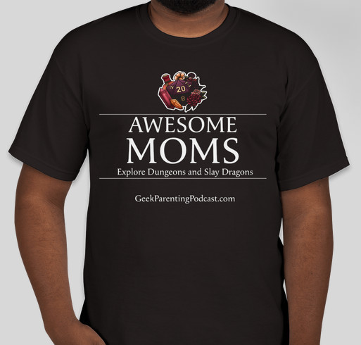 Get Geek Parenting to GenCon Fundraiser - unisex shirt design - small
