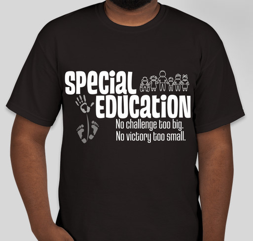 Special education shirt fundraiser booster fundraiser for T shirt design for education