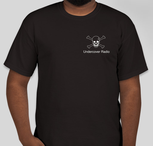 Official Undercover Radio t-shirt Fundraiser - unisex shirt design - front