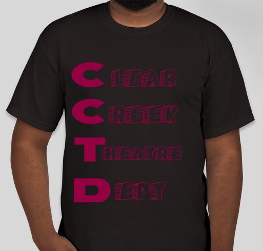 Clear Creek Theatre Department Fundraiser Fundraiser - unisex shirt design - front