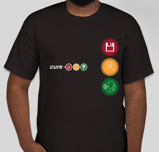 Gwen's Friends come together to Cure CF Fundraiser - unisex shirt design - front