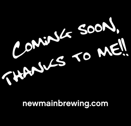 New Main Brewing Company Start Up shirt design - zoomed