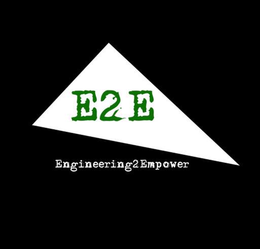 E2E Expo shirt design - zoomed