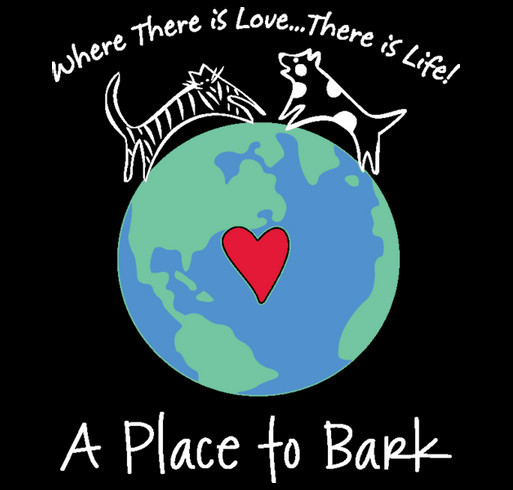 A Place To Bark - July 2015 shirt design - zoomed