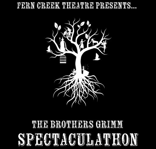 Fern Creek Theatre Presents The Brothers Grimm! shirt design - zoomed