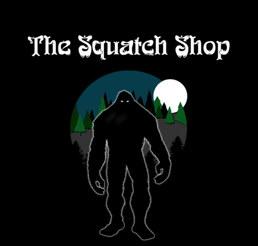 The Squatch Shop official Tshirts! shirt design - zoomed