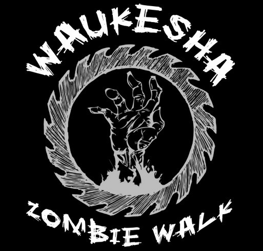 5th Annual Waukesha Zombie Walk shirt design - zoomed