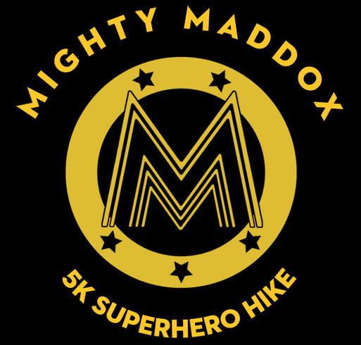 Mighty Maddox shirt design - zoomed
