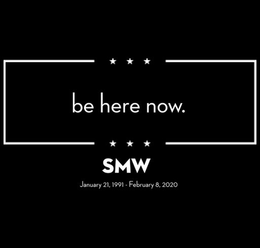 be here now - SMW - Round 2 shirt design - zoomed