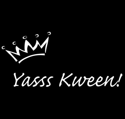 Miss Queens 2017 shirt design - zoomed