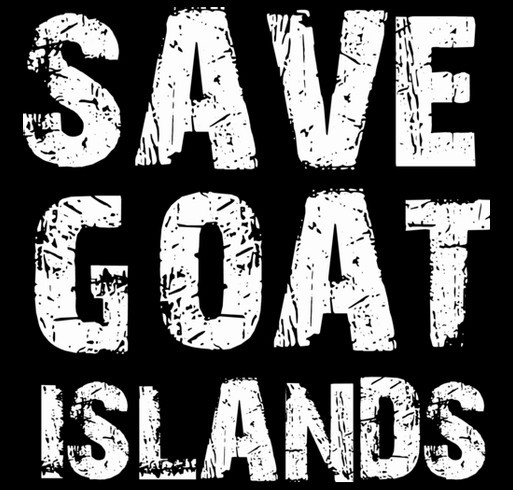 Save Goat Islands 4 shirt design - zoomed