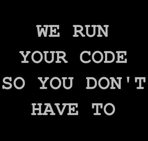 RunCode Annual Competition shirt design - zoomed