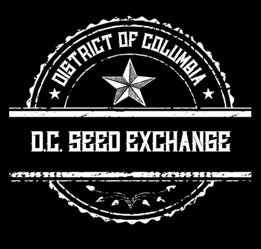 Support Your Local D.C. Seed Exchange! shirt design - zoomed