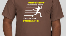 streaking running club