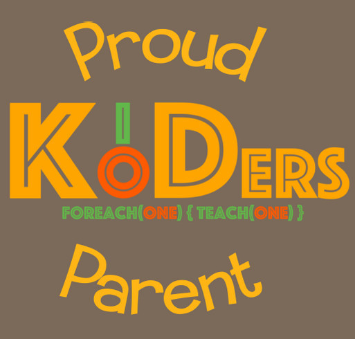 Raising a Koder! shirt design - zoomed
