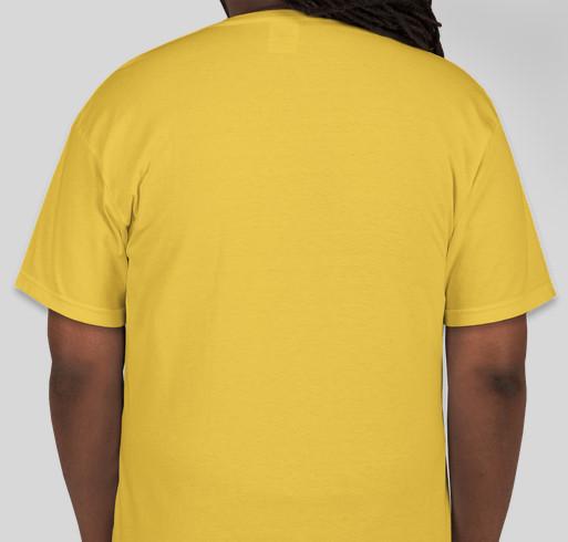 Pink Octopi Million Mile-a-Thon for Alex's Lemonade Stand Foundation Fundraiser - unisex shirt design - back