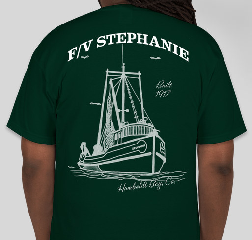 F/V Stephanie Restoration Project Fundraiser - unisex shirt design - small - back