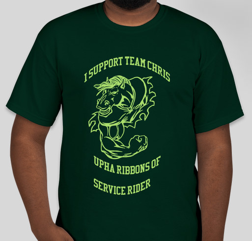 Support Team Chris Fundraiser - unisex shirt design - front