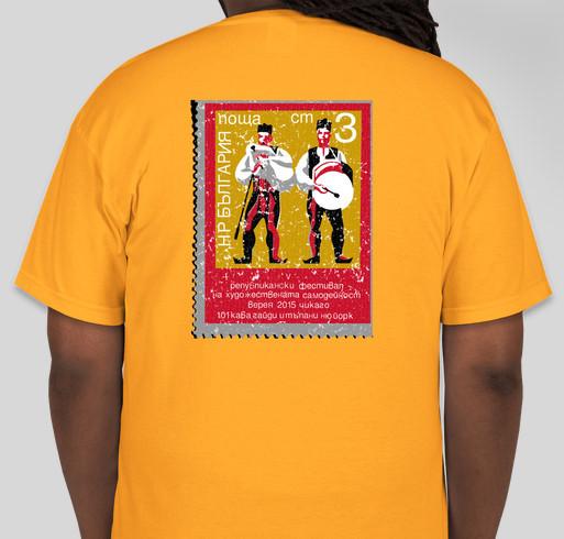 101 Kaba Gaidi NY Fundraiser Fundraiser - unisex shirt design - back