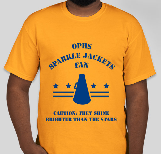 ee3fa2a4b9c7 OPHS Sparkle Jackets (2) Fundraiser - unisex shirt design - front