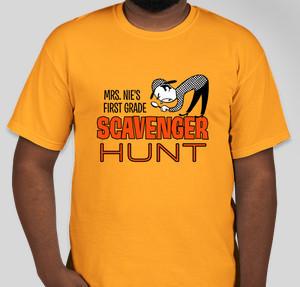 9dbe1bf3 Scavenger Hunt T-Shirt Designs - Designs For Custom Scavenger Hunt T ...
