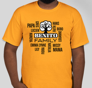 benito family - Family Reunion T Shirt Design Ideas