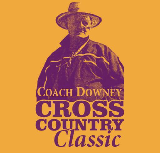 Coach Downey Scholarship Fundraiser T-Shirt shirt design - zoomed