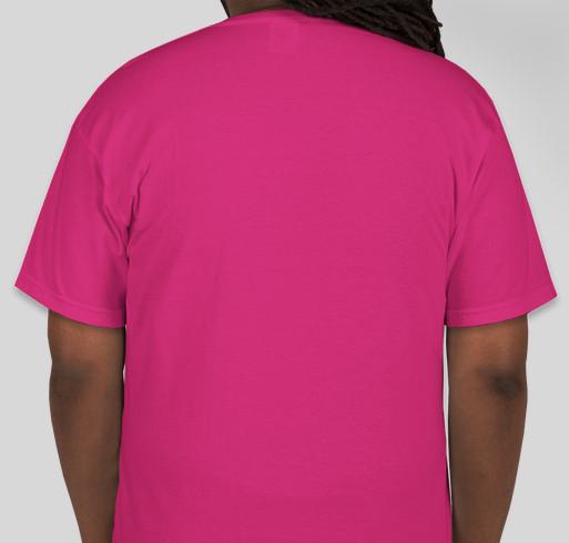 Help change the world for blind children! Fundraiser - unisex shirt design - back