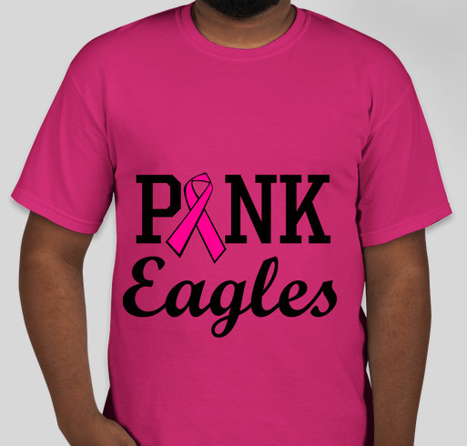 Pink Eagles T Shirt Fundraiser Custom Ink Fundraising