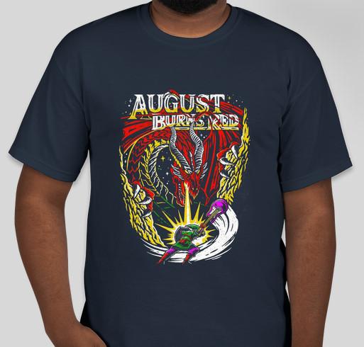 The Legend of Zelda August burns red shirt Fundraiser - unisex shirt design - front