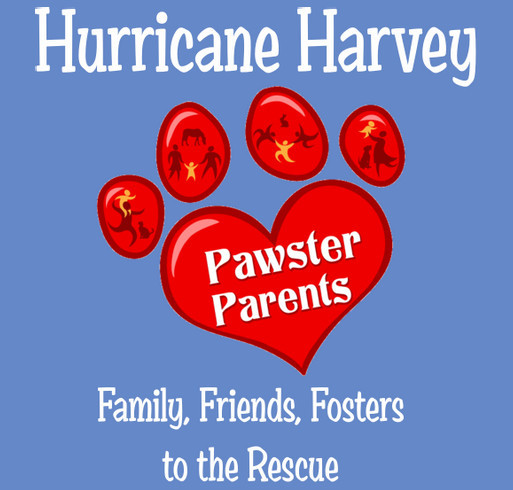 Pawster Parents taking Hurricane Pets home to Family shirt design - zoomed