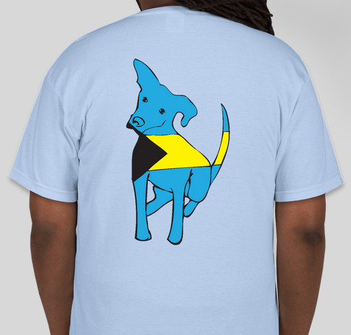 Royal Bahamian Potcake Fundraiser Fundraiser - unisex shirt design - back