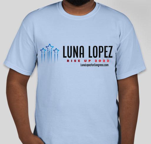 Help Luna Take Down the Establishment! Fundraiser - unisex shirt design - front
