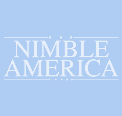 Nimble America Launch shirt design - zoomed